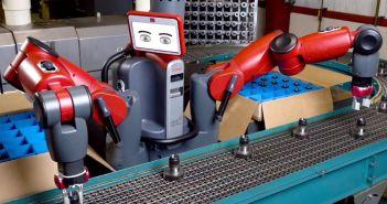 Renta básica universal baxter robot