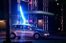 jaula de faraday coche rayo