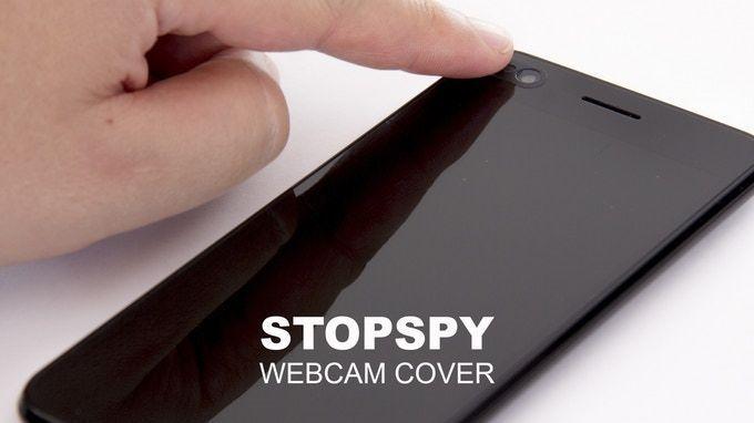 tapar la webcam stopspy