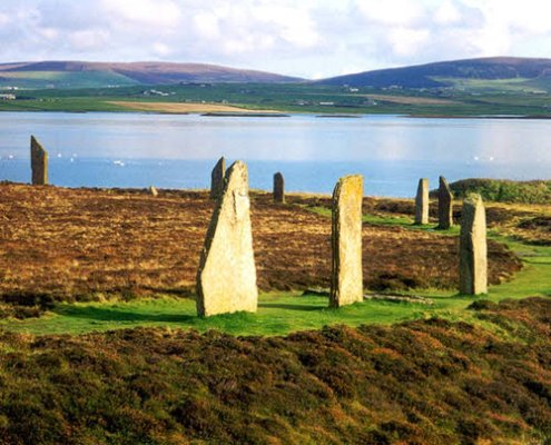 Orkney standing stones Ferrys from NC500