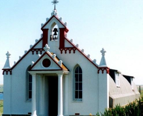Orkney's Italian POW chapel, made in WW2