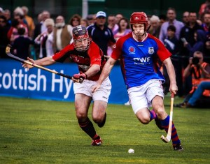 Shinty Match at Bught Park