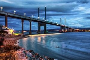The Kessock Bridge at Night