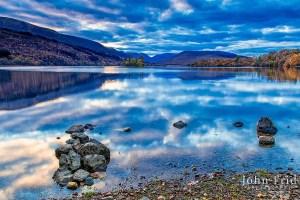 Last light at Loch Arkaig