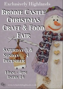 poster for Brodie Castle FCraft and Food Fair