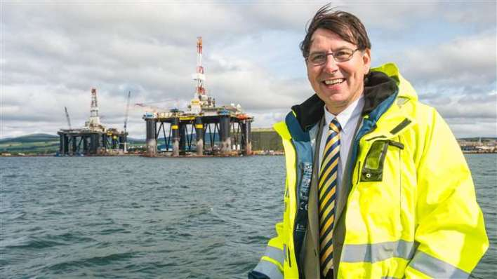 Port of Cromarty Firth chief executive Bob Buskie. Picture: Callum Mackay.