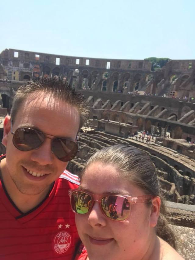 Craig Jamieson on Facebook - Cannie make the game today but flying the flag in Rome!! Does anyone have a link to watch game?