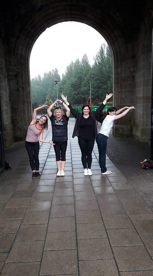 Craig Macdonald on Facebook - COYR with Carol, Morag, Wendy, Ashleigh!