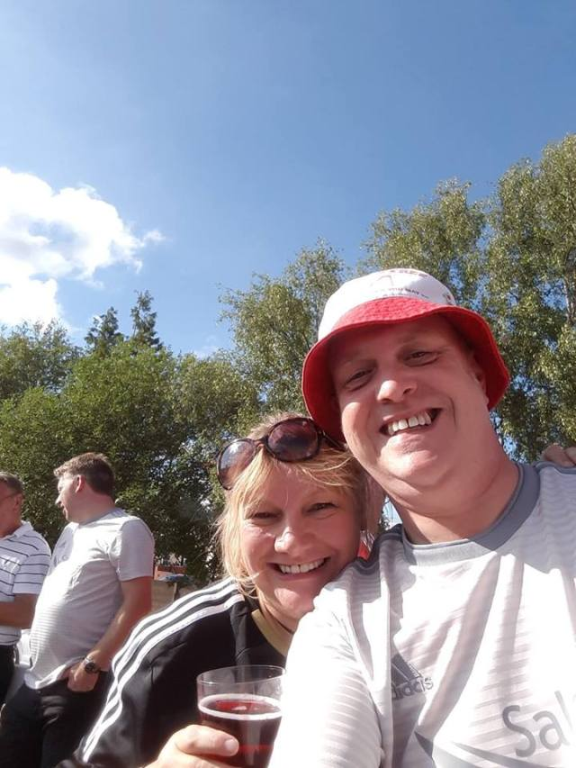 Criag McDonald on Facebook - Me and my big sis! — drinking anything alcoholic at Burnley Cricket Club 1833.