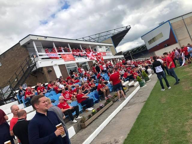 Mark Reid on Facebook - Dandies min 🍻 — drinking beer at Burnley Cricket Club 1833.