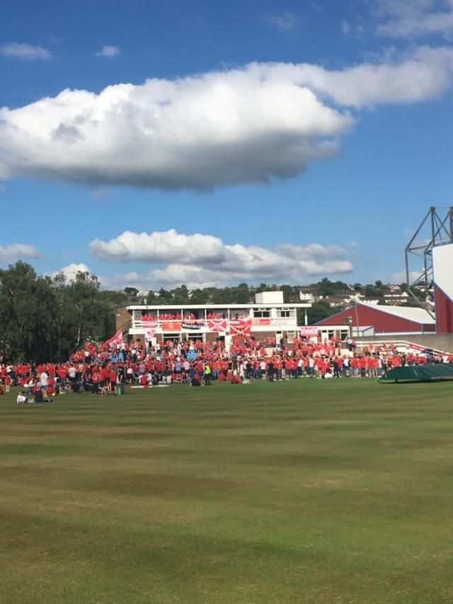 Paul Crichton on Facebook - Cricket club takeover 😷