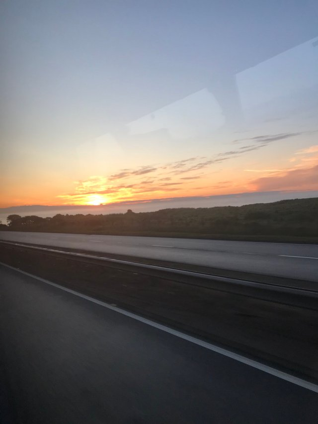 @ScottishSuzee - It's 5.11am and our bus was just heading into Aberdeen from Burnley and I managed to get the sun rise. ☀️☀️❤️❤️🏴󠁧󠁢󠁳󠁣󠁴󠁿🏴󠁧󠁢󠁳󠁣󠁴󠁿