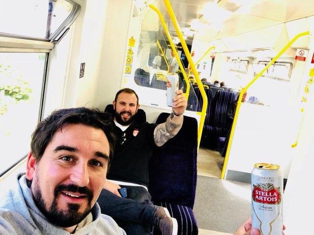 @AndyJon_88 - Burnley bound #COYR #aberdeenfc