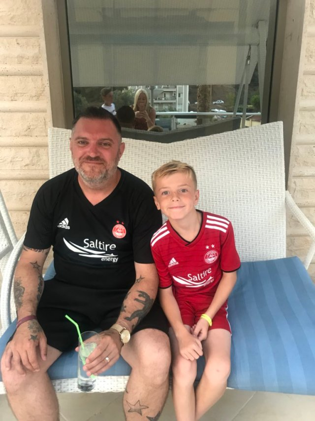 @la4gg - @AberdeenFC AFC on tour #turkey #COYR #letsdothis