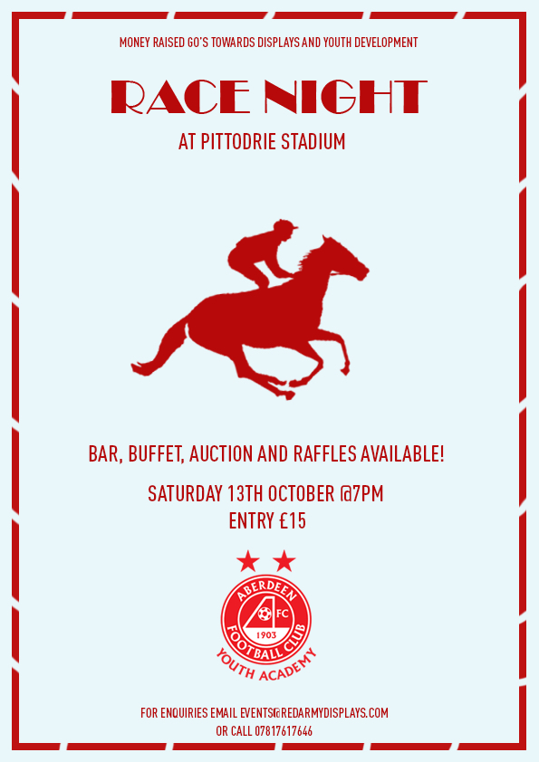 Red Army Race Night
