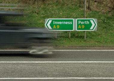 A9 sign
