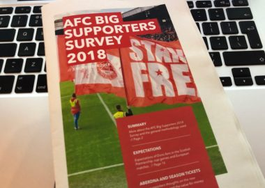 AFC Big Supporters Survey