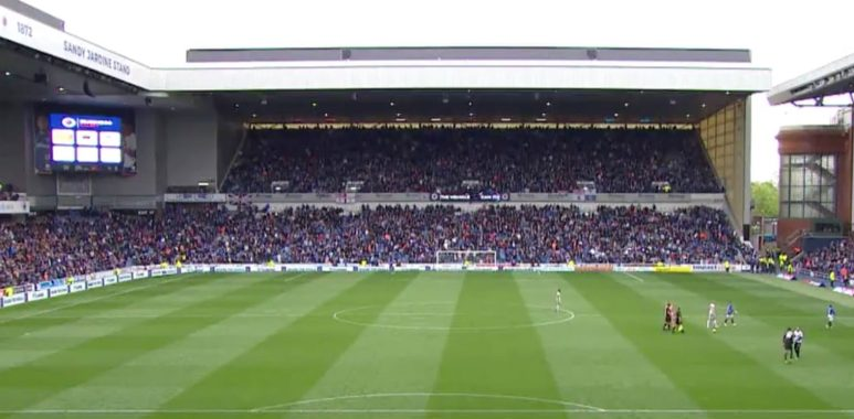 The Rangers v Aberdeen