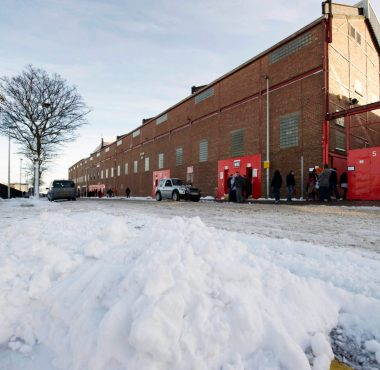 Snow Pittodrie