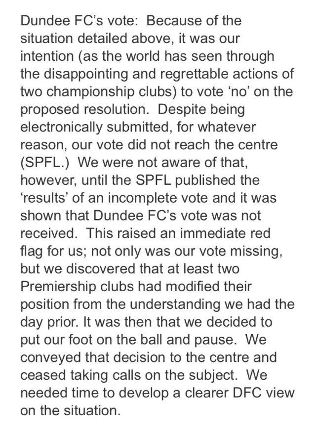 Dundee Vote
