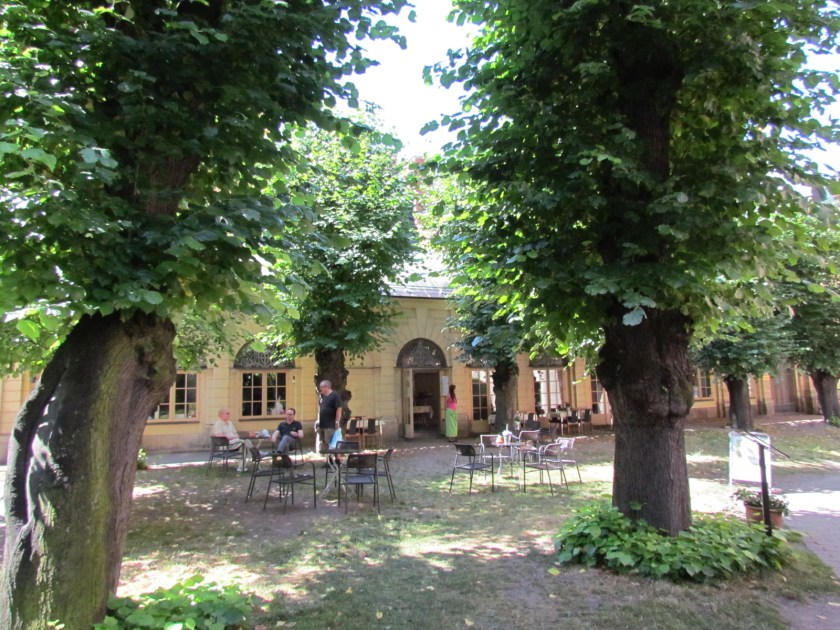 cafe at St Gertrude's church