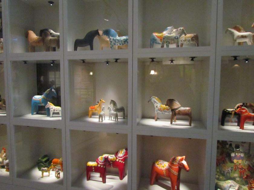 Dalarnas horses, Dalarnas museum