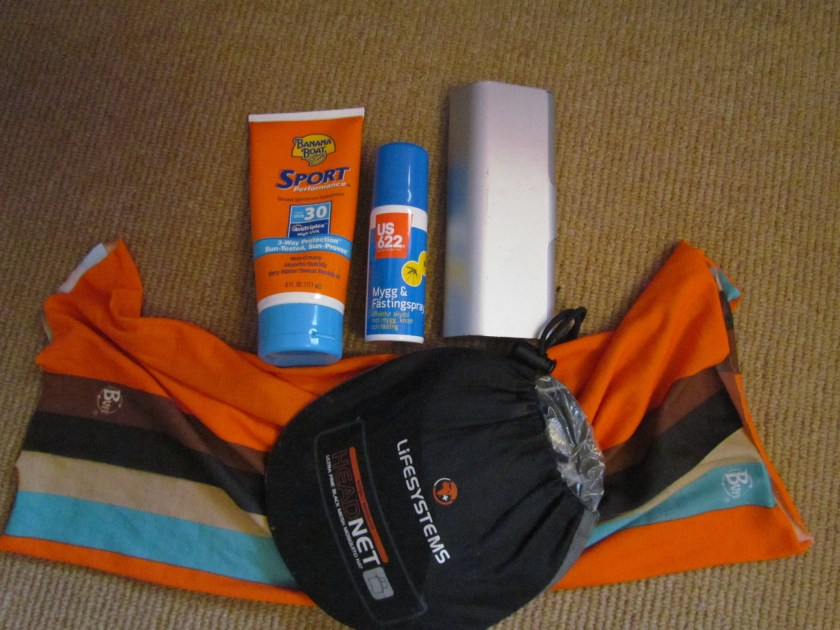 mossie spray and sunscreen