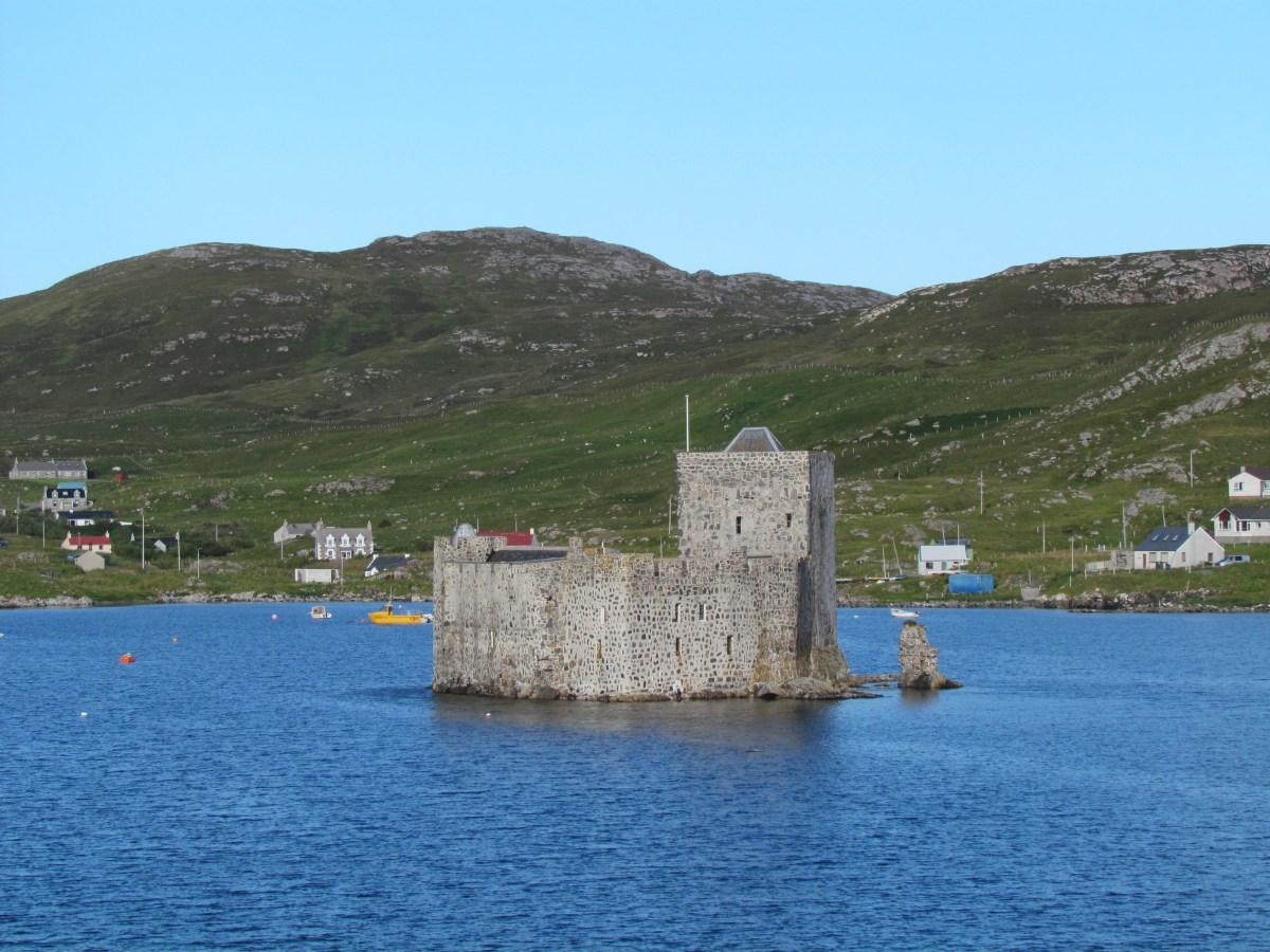 castle in Barra's harbour