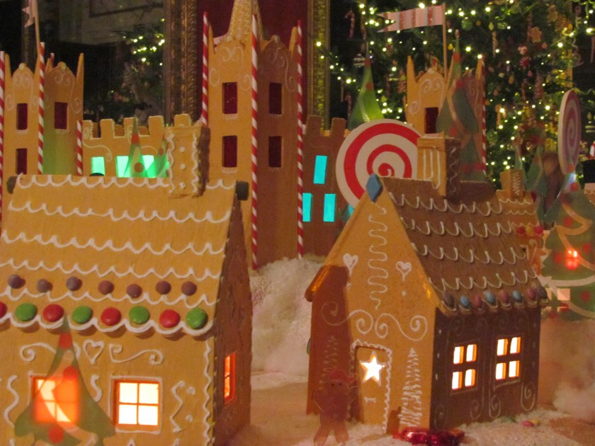 Gingerbread houses, Chatsworth