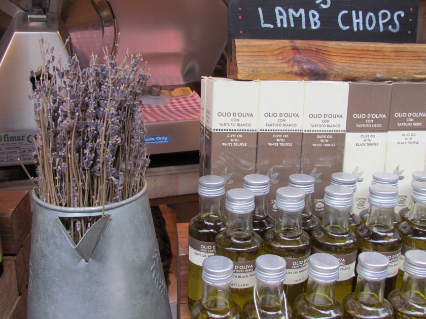 olive oil and lavender