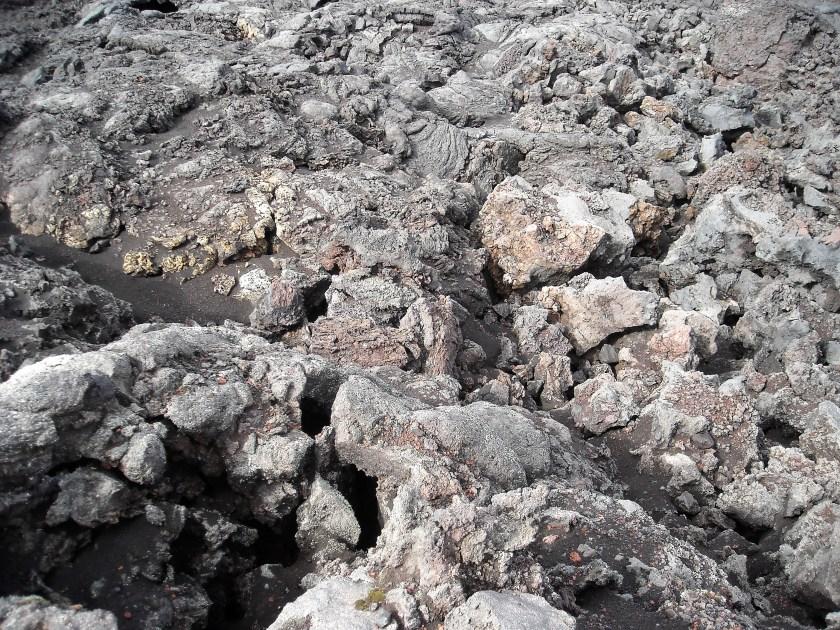 Iceland lava rock