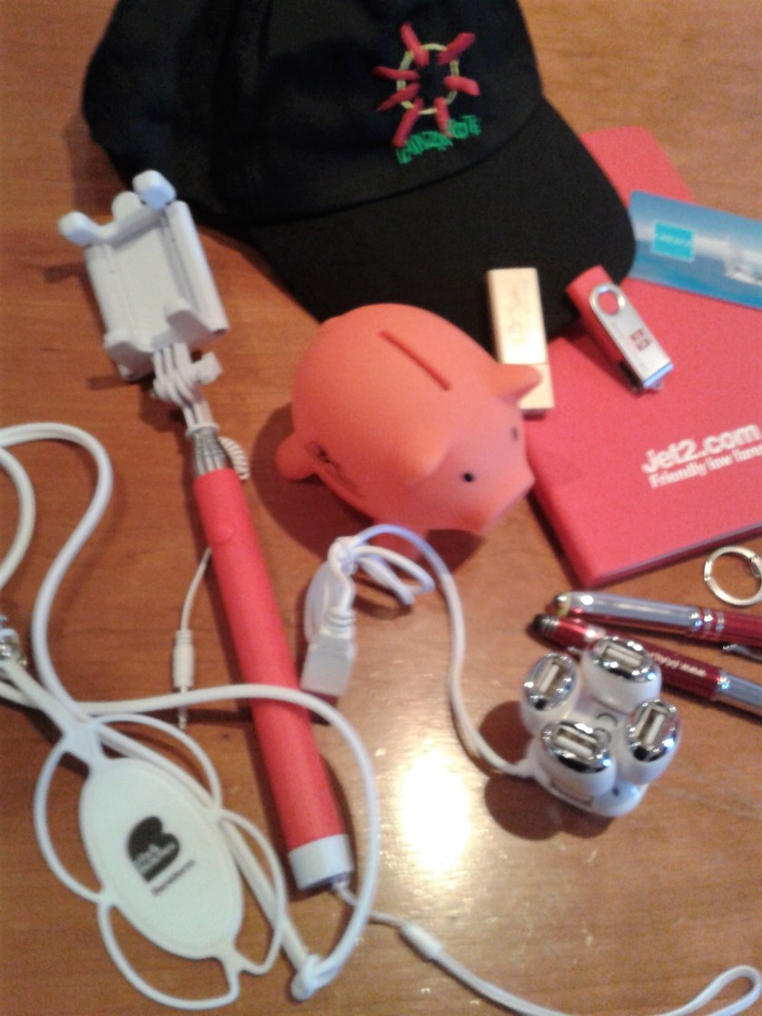 contents of goody bag - Traverse 17