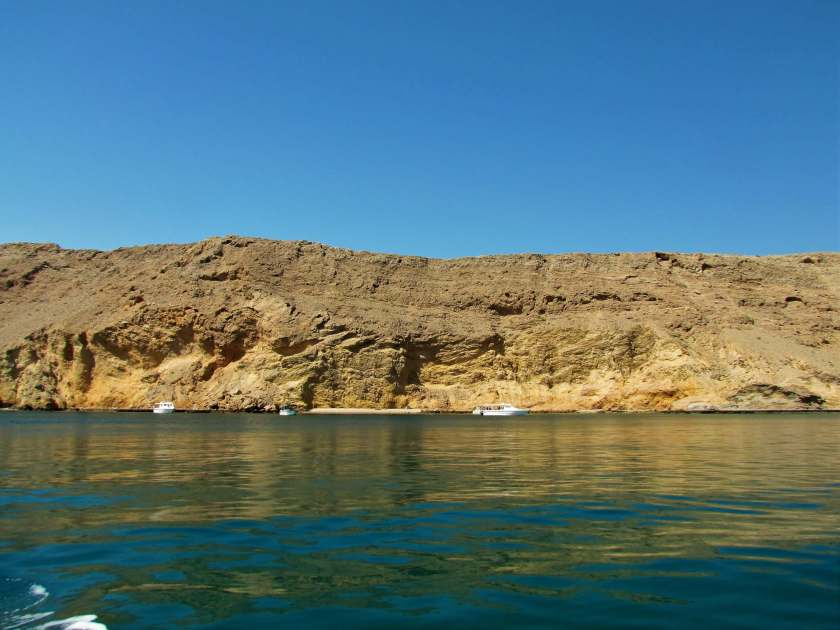 boat trip in the Gulf of Oman