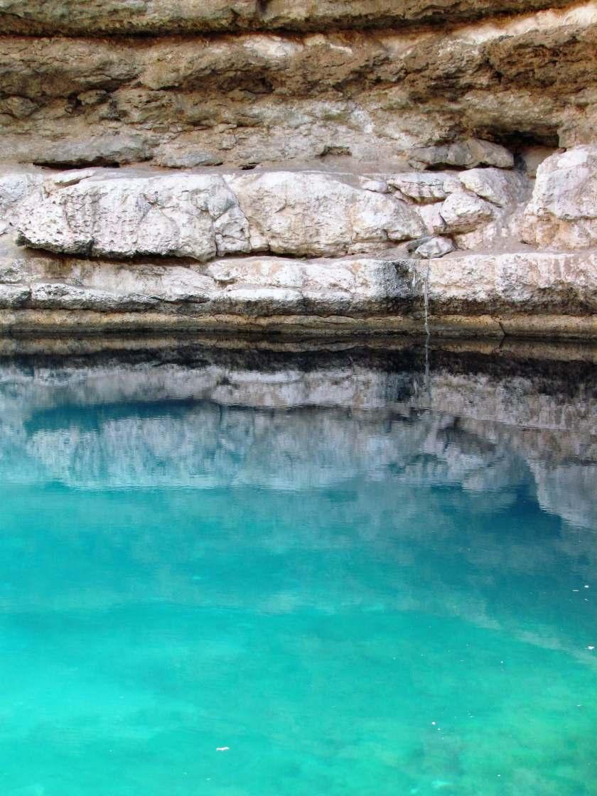 Swimming in a Sinkhole - Bimmah Sinkhole, Oman