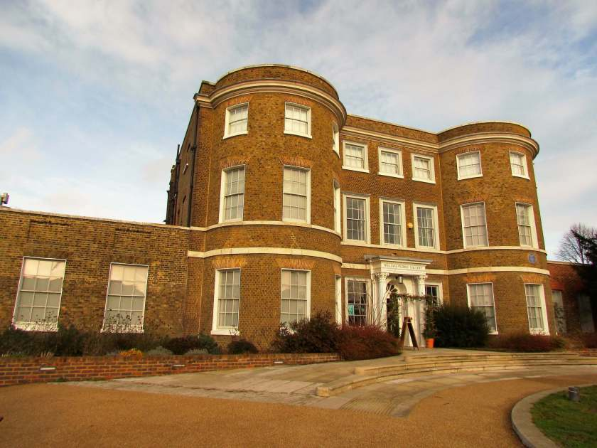 A Day in Walthamstow - William Morris house - Inverted Sheep