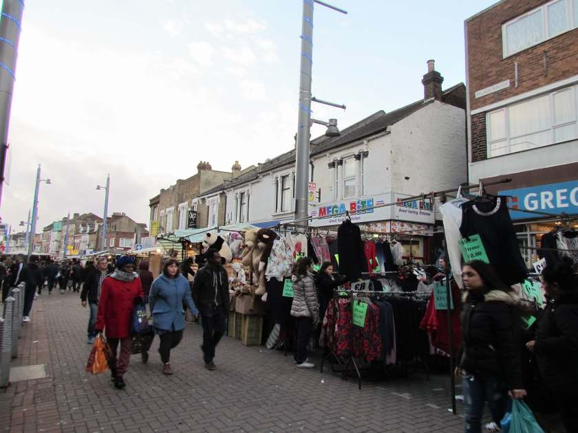 A Day in Walthamstow - Walthamstow Market - Inverted Sheep