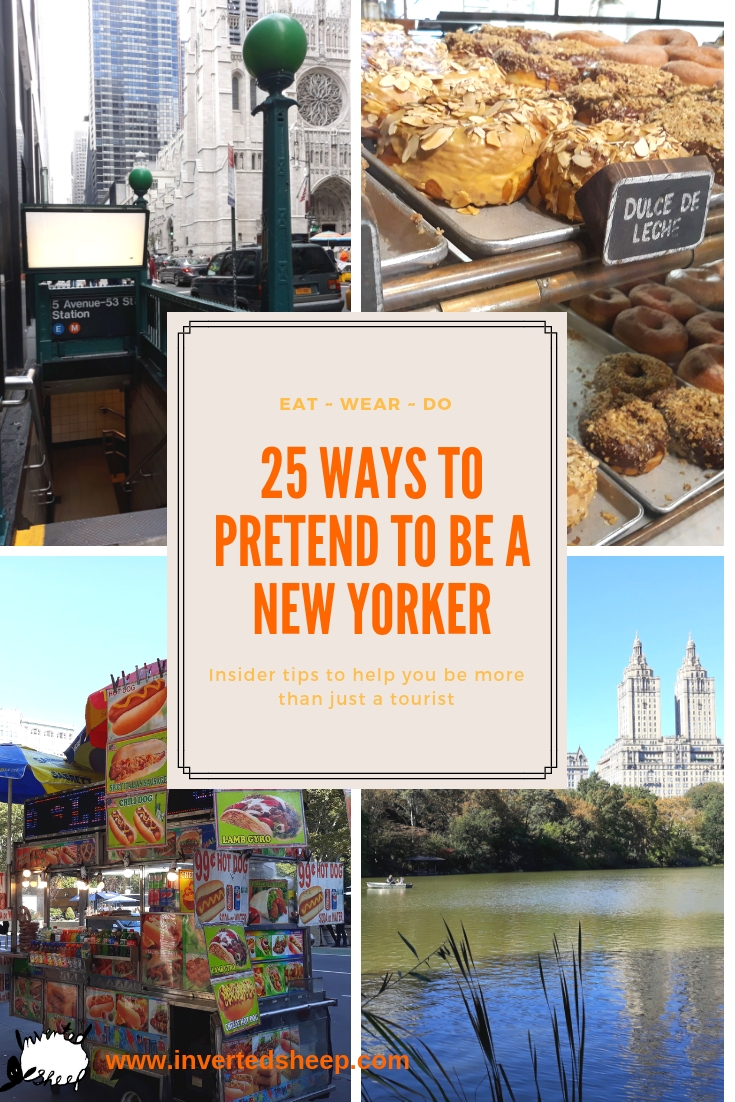 25 Ways to Pretend to be a New Yorker