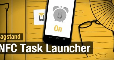 NFC : test (vidéo) de l'application NFC Task Launcher – Trigger