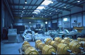 Werkhalle der Oswald Metzen GmbH für industrietechnische Anlagen