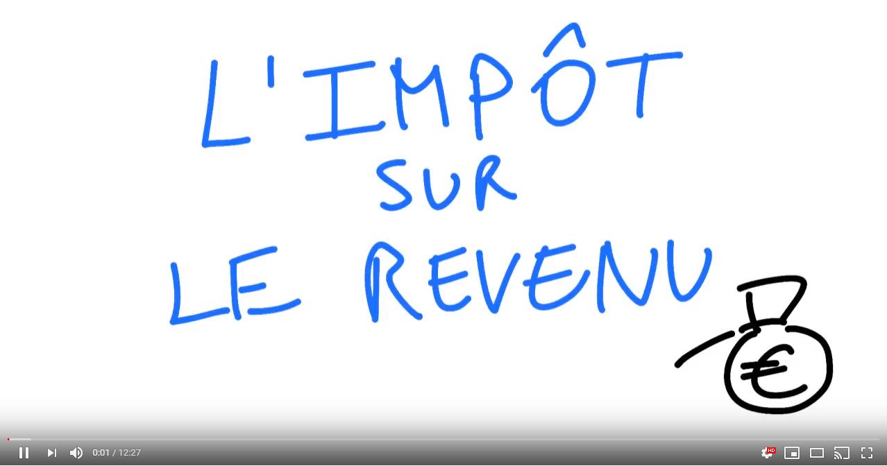 Quel est le calcul de impôt sur le revenu?