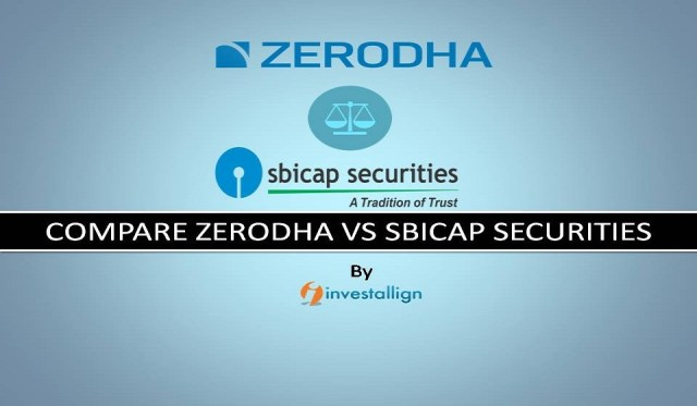 Compare Zerodha vs SBICAP Securities