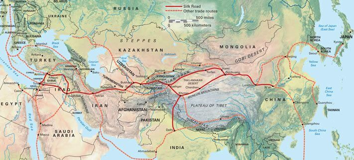 China's New Silk Road to Benefit Frontier Markets