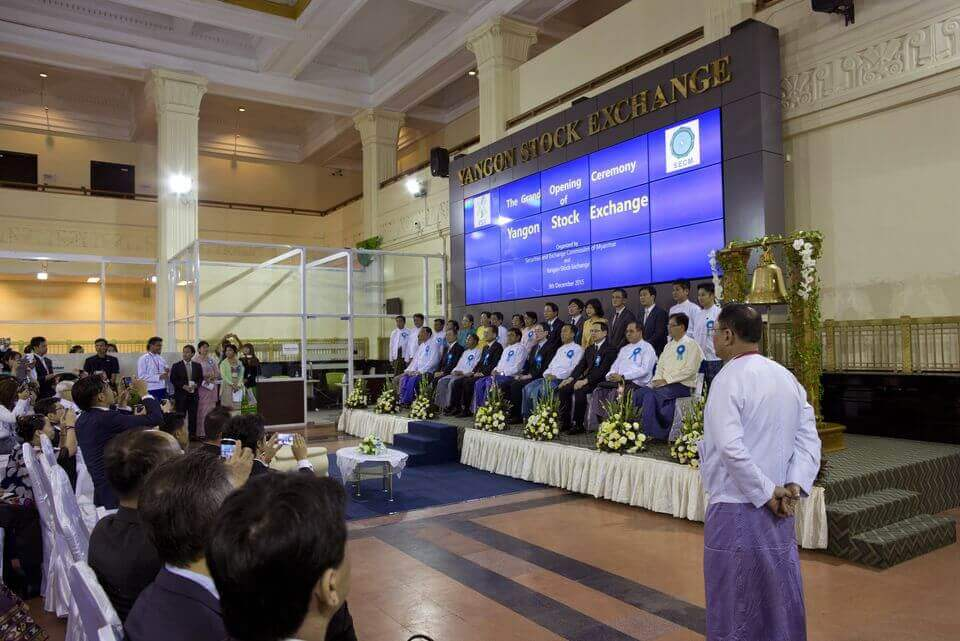 Yangon Stock Exchange Finally Opens in Myanmar