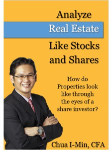 My first e-book on Analysis Real Estate like Stocks and Shares