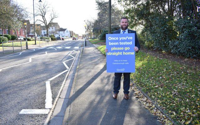 Cllr Matthew Boles, member for Gainsborough North Ward and Gainsborough Town Councillor