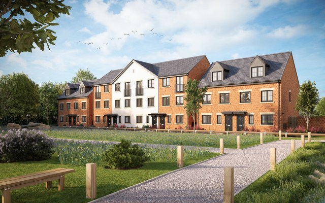 Warren Wood, Gainsborough - CGI 1
