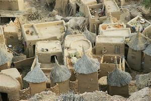 aldea dogon 300x202 - Hombres-peces en el pueblo Dogon