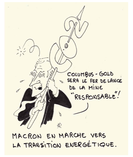 Macron and gold mining pollution in French Guiana