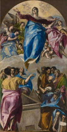El Greco- Asunción de la Virgen. Art Institute Chicago, EE.UU
