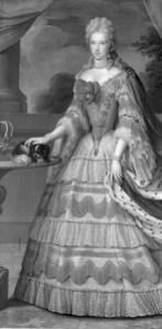11. Jacques Courtilleau, atribuido: Mariana de Neoburgo. París, Embajada de España. Museo Nacional del Prado.